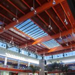 techo centro comercial