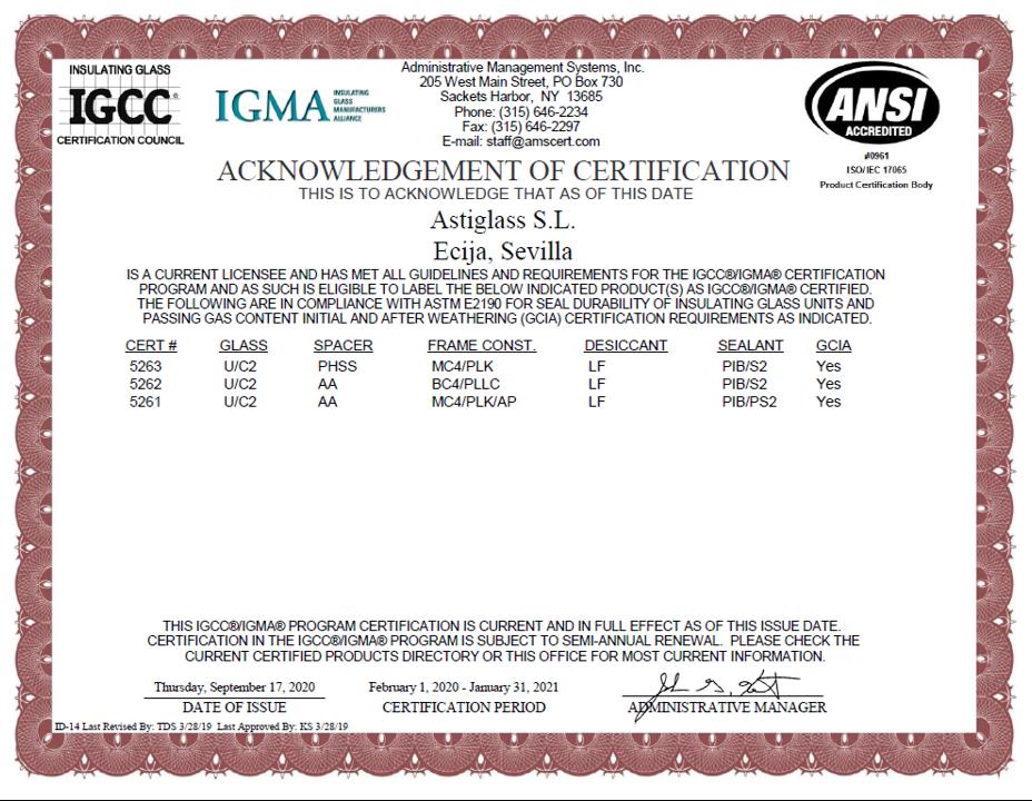 IGCC-IGMA